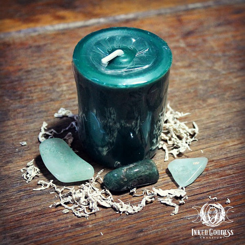 Green Witch Candle