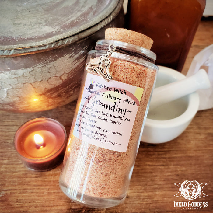 Kitchen Witch Magickal Culinary Blend- Grounding