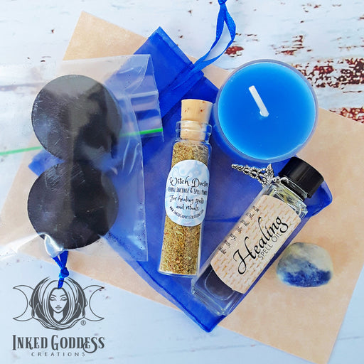 Healing Spell Kit from Inked Goddess Creations