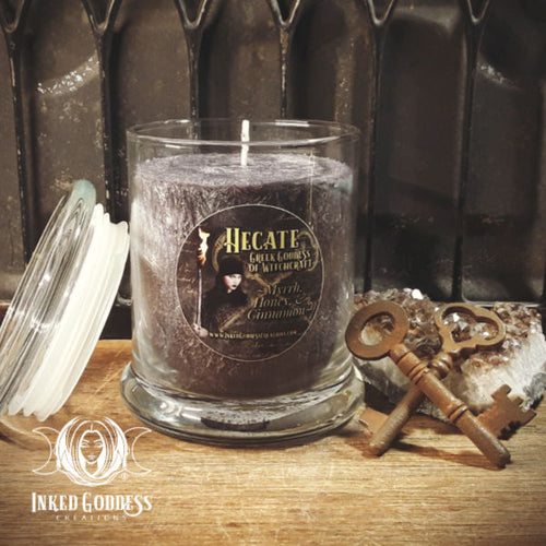 Hecate Jar Candle- Greek Goddess of Witchcraft