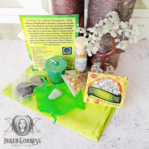Home Prosperity Altar Kit- Items & Instructions
