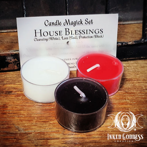 House Blessings Candle Magick Set