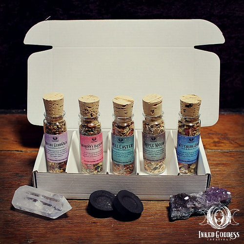 Herb & Resin Incense Set of 5