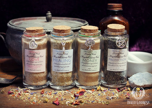 Kitchen Witch Magickal Culinary Blends