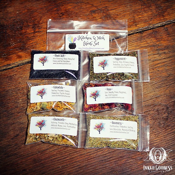 Kitchen Witch Herb Set