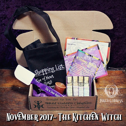 November 2017 Magick Mail- The Kitchen Witch