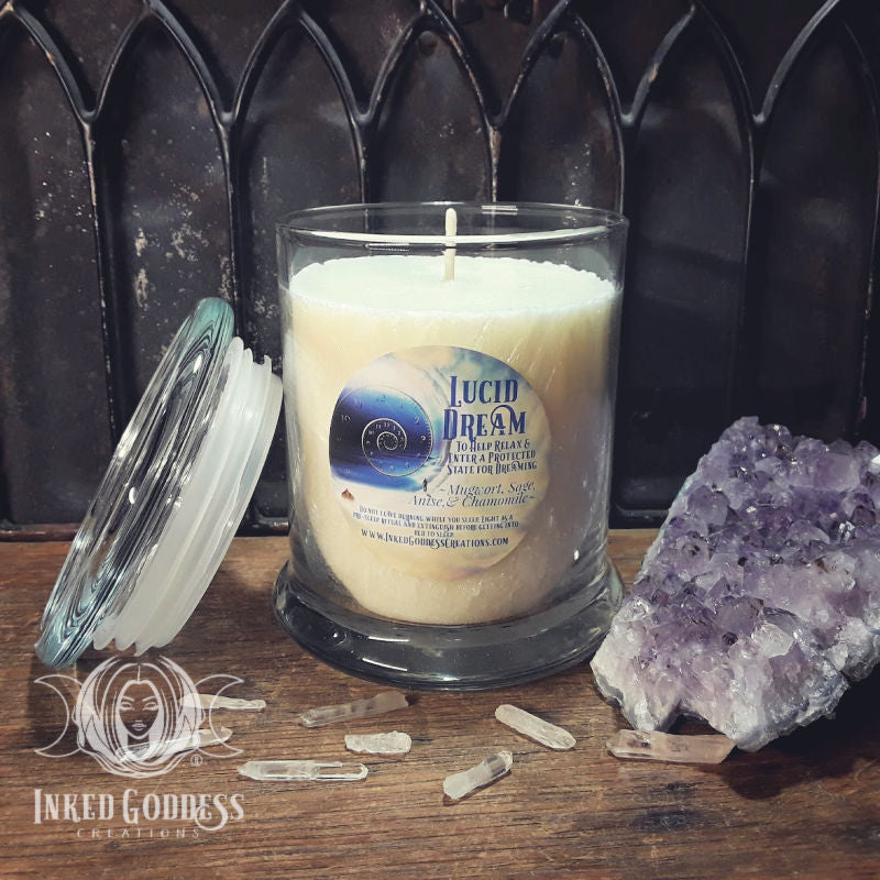 Lucid Dream Jar Candle for Dream Magick