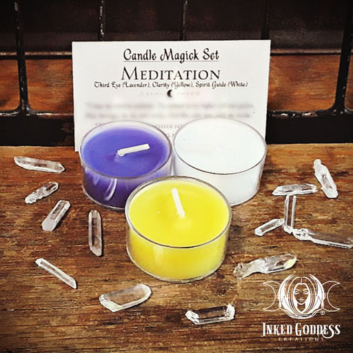 Meditation Candle Magick Set