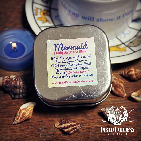 Mermaid Fruity Black Tea Blend