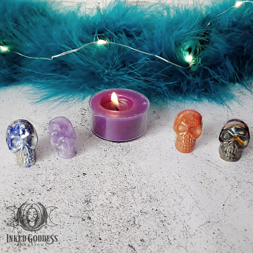 Mini Gemstone Skulls