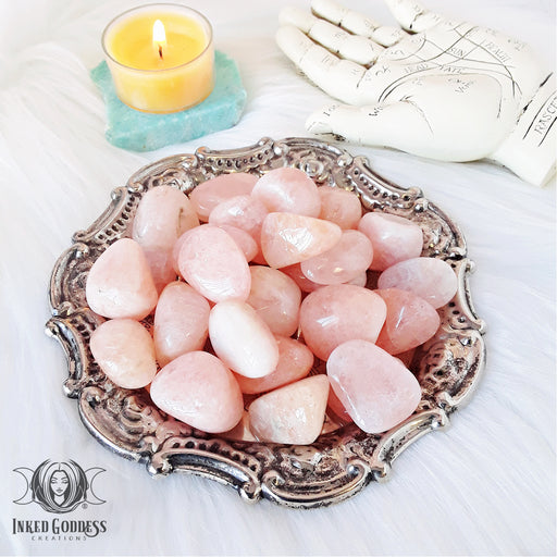 Morganite Tumbled Gemstone