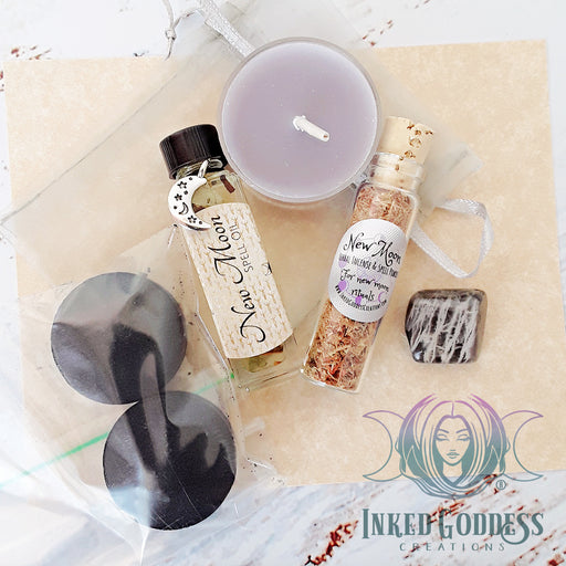 New Moon Spell Kit from Inked Goddess Creations