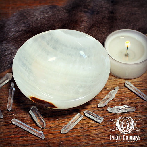 Onyx Gemstone Offering Bowl
