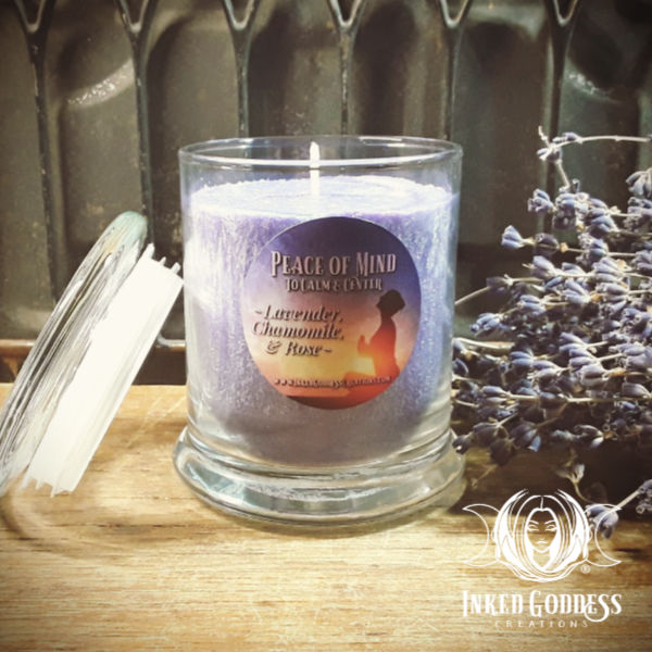 Peace of Mind Jar Candle for Relaxation