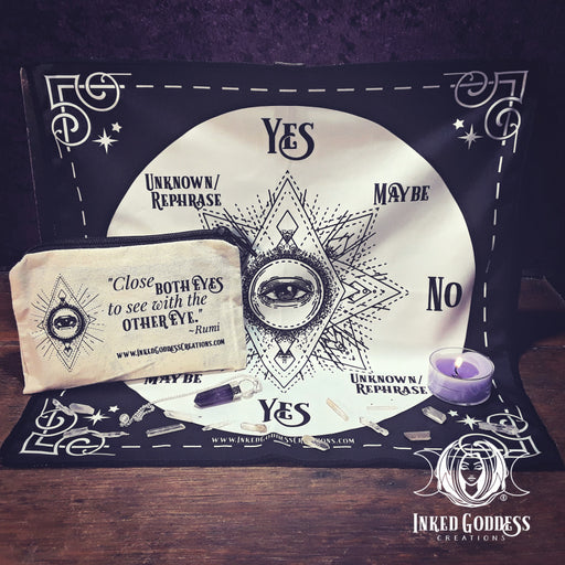 Third Eye Pendulum Kit from Inked Goddess Creations