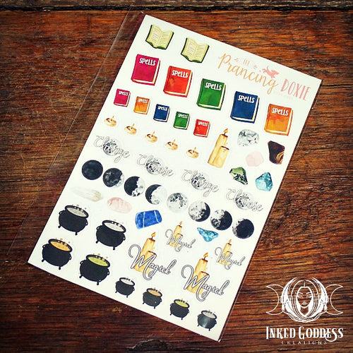 Pagan Date Planner Stickers