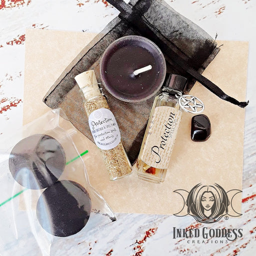 Protection Spell Kit from Inked Goddess Creations