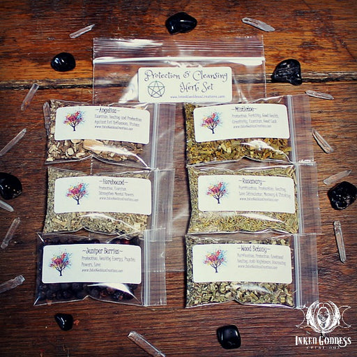 Protection and Cleansing Herb Set