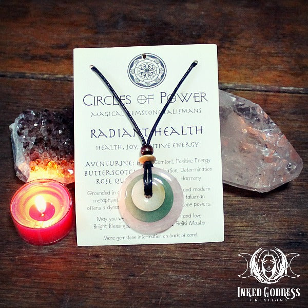 Radiant Health Circles of Power Necklace