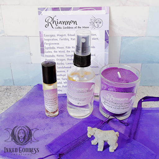 Rhiannon Goddess Set, Celtic Goddess of Transformation