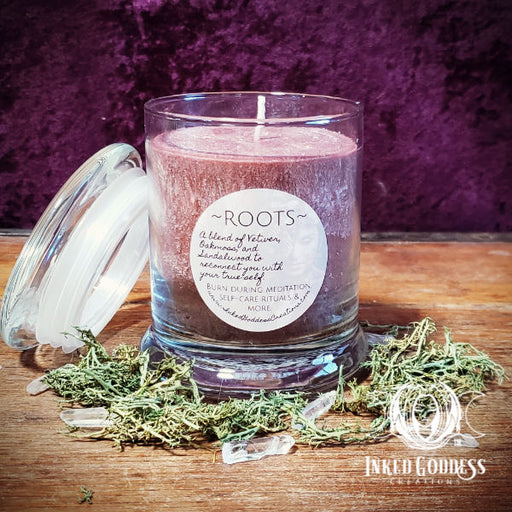 Roots Jar Candle to Reconnect with Your True Self
