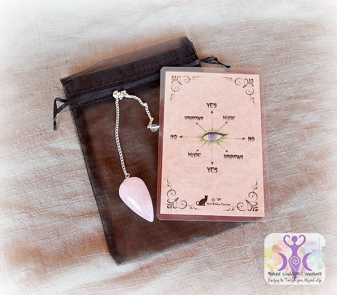 Rose Quartz Simple Pendulum Kit