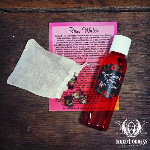 Magickal Rose Water Kit