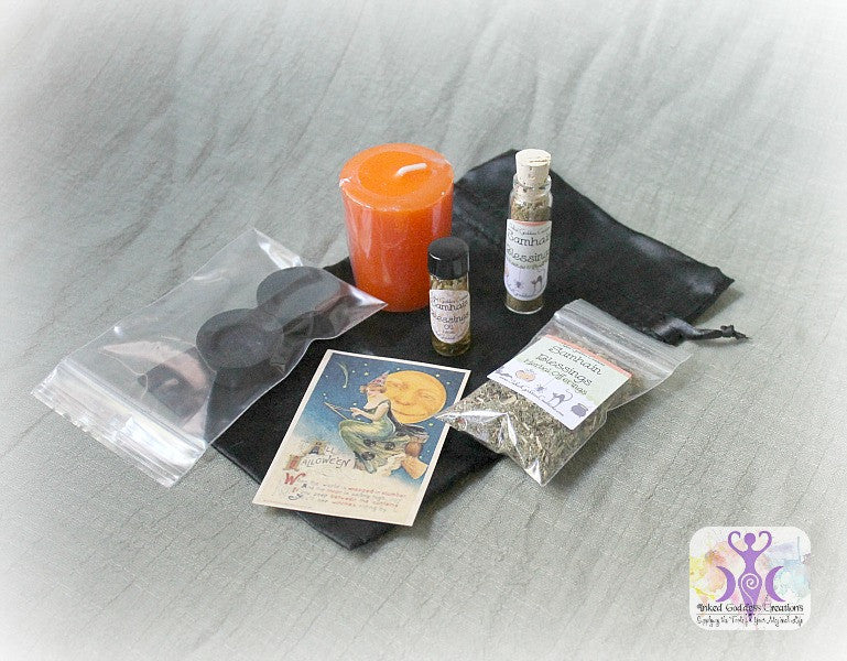 Samhain Blessings Kit for Halloween and the Witch's New Year