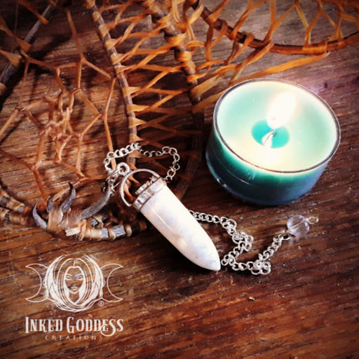 Scolecite Pendulum for Communication with the Spirit