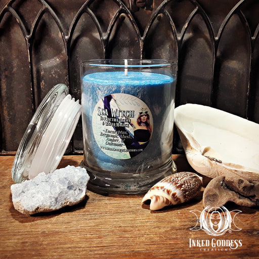 Sea Witch Jar Candle for Ocean Magick