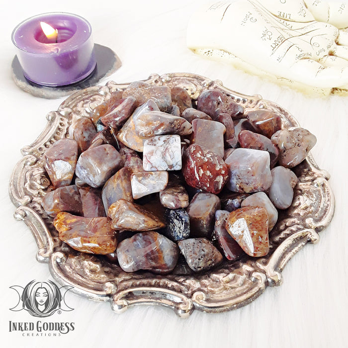 Pietersite Tumbled Gemstone for Storm Magick