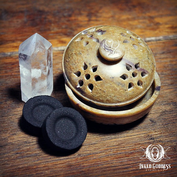 Soapstone Incense Burner