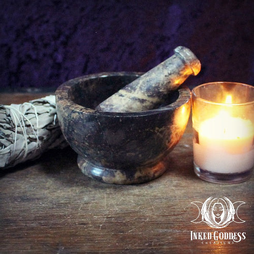 Soapstone Mortar and Pestle