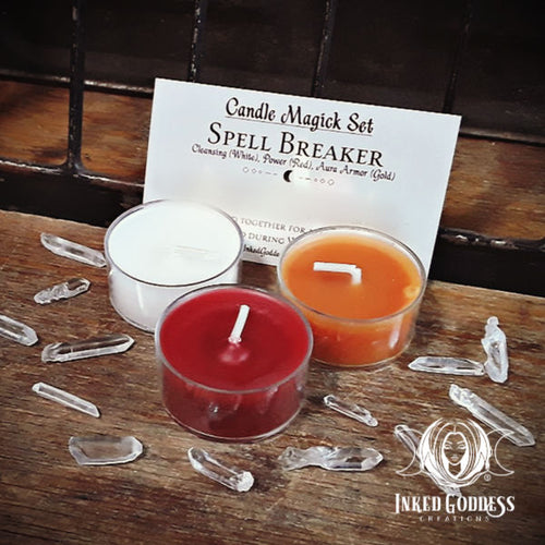 Spell Breaker Candle Magick Set