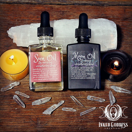 Sun Oil and Moon Oil Aromatherapy Set