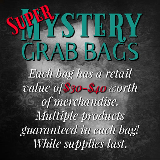 Super Mystery Grab Bags, While Supplies Last, with $30+ of Products Inside!