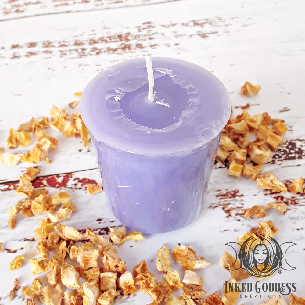 Third Eye Votive Candle for Psychic Opening & Divination, Pack of 3