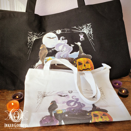 Halloween Canvas Tote Bags- 2 Styles to Choose- IGC Exclusive!