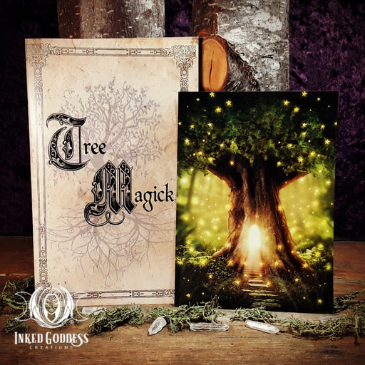 Tree Magick Booklet Plus Bonus Altar Card