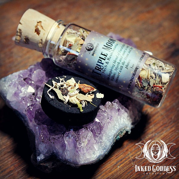 Triple Moon Herb & Resin Incense