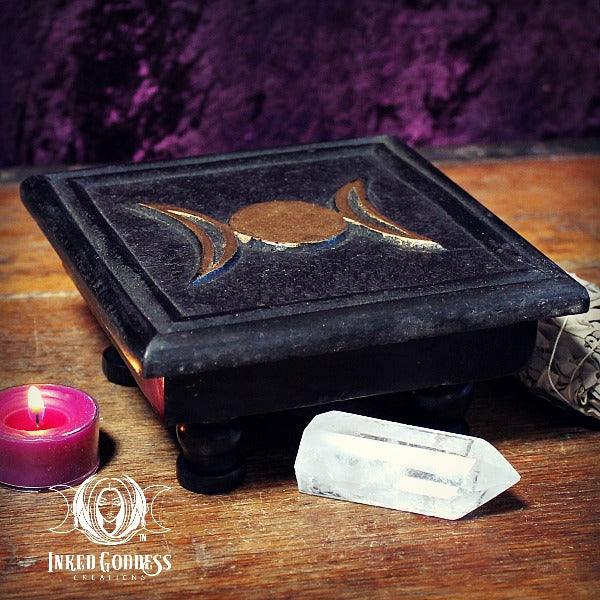 Triple Moon Mini Altar Table