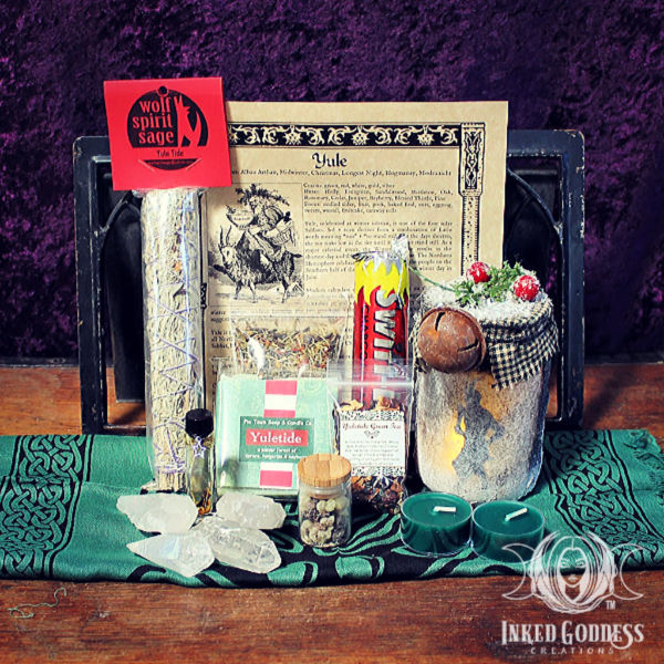 Ultimate Sabbat Kit for Yule from Inked Goddess Creations