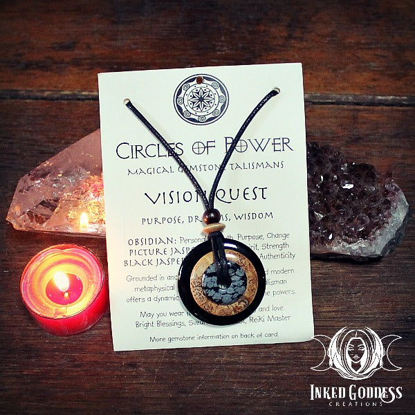 Vision Quest Circles of Power Necklace