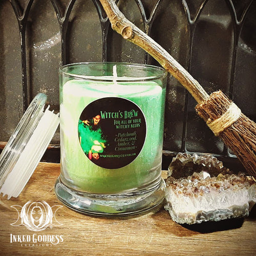 Witch's Brew Jar Candle