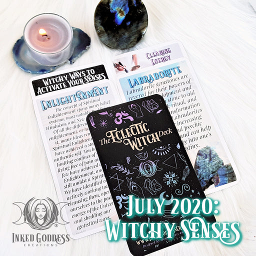 2020 July- December Edition- Past IGC Box Expansion Packs for the The Eclectic Witch Card Deck