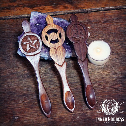 Kitchen Witch Wooden Spoon