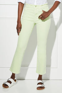 Sunset Cropped Flare Jean