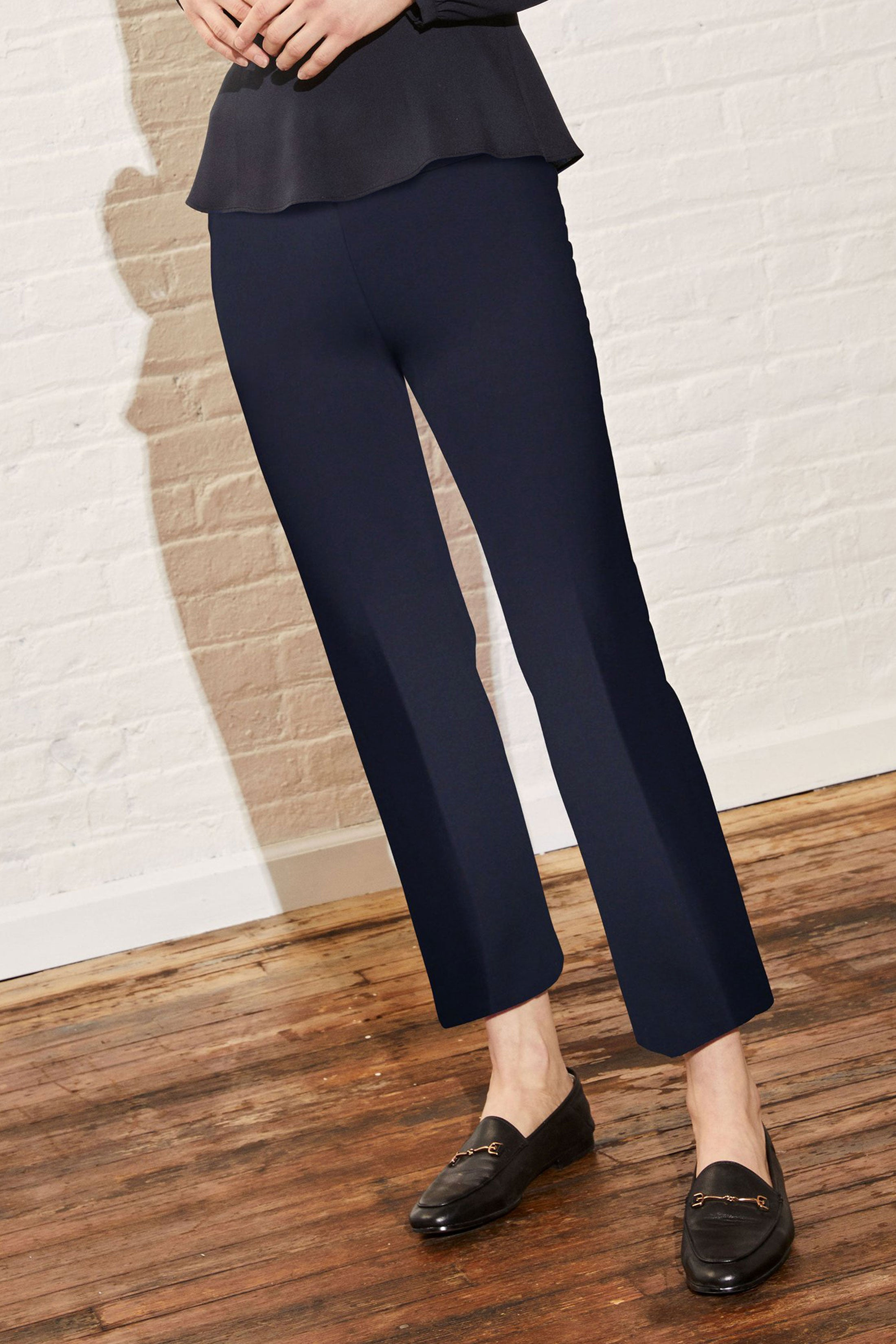 Prince Cropped Flare Leg Pant
