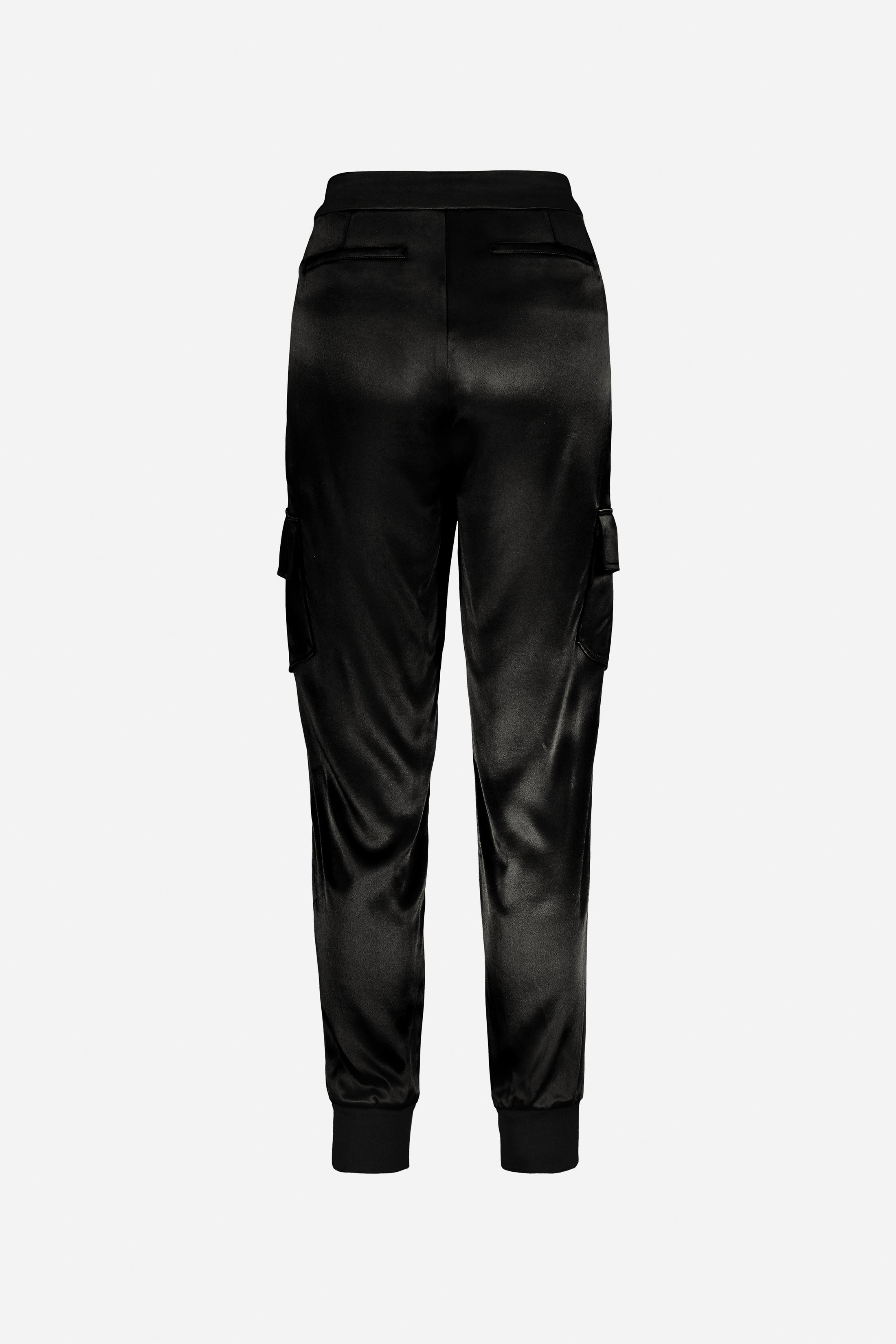 St. Germain Satin Cargo Pant