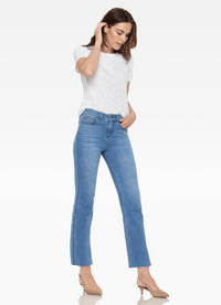 Sunset Hi-Rise Cut Hem Jean